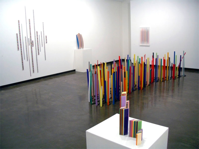 Installation view of 'Connection is Solid' by John Nicholson at Sophie Gannon Gallery, Melbourne