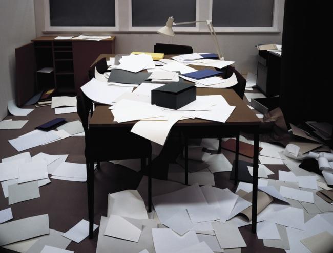 Thomas Demand. 'Office' 1995
