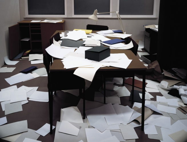 Thomas Demand. 'Office' 1995