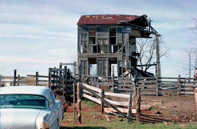 William Christenberry. 'Old House, near Akron, Alabama' 1964
