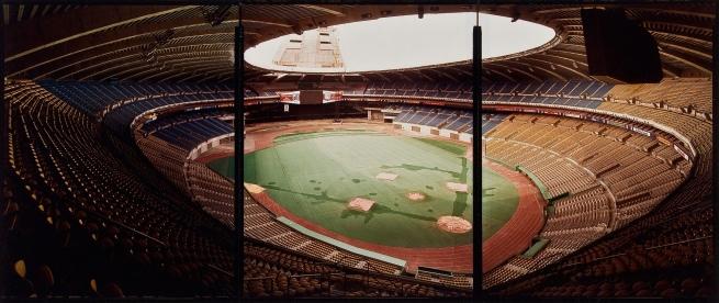 Jim Dow (American, b. 1942) 'Olympic Stadium, Montreal' 1982