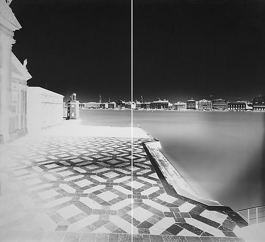 Vera Lutter. 'San Giorgio, Venice XVIII: January 26, 2008' 2008
