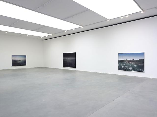 'Snow Machine' by Florian Maier-Aichen installation view at Britannia Street, Gagosian Gallery 2