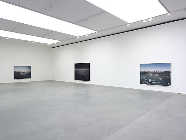 'Snow Machine' by Florian Maier-Aichen installation view at Britannia Street, Gagosian Gallery 2