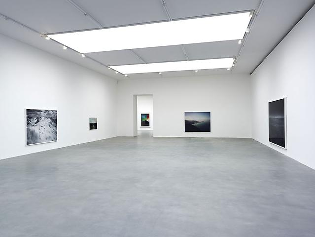 'Snow Machine' by Florian Maier-Aichen installation view at Britannia Street, Gagosian Gallery