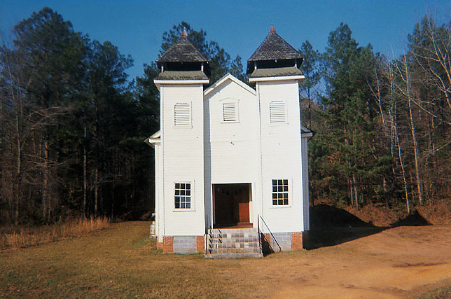 William Christenberry. 'Sprott Church in Alabama' 1971