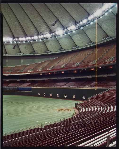 Jim Dow. 'The Kingdome. 'Seattle Mariners' 1982