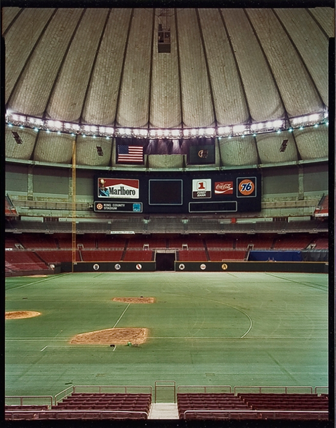 Jim Dow (American, b. 1942) 'The Kingdome. Seattle Mariners' 1982