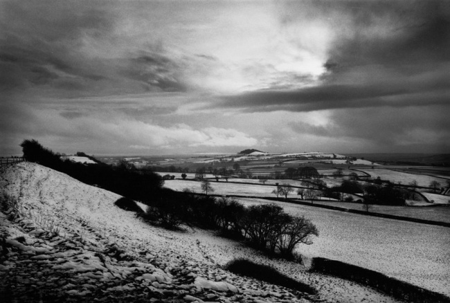 Don McCullin. 'Towards an Iron Age hill fort, Somerset' 1991