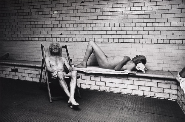 Don McCullin. 'Windsor Baths, Bradford, early 1970s' c.1970s