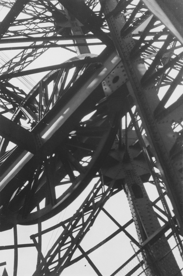 Germaine Krull. 'La Tour Eiffel' (The Eiffel Tower), ca. 1928
