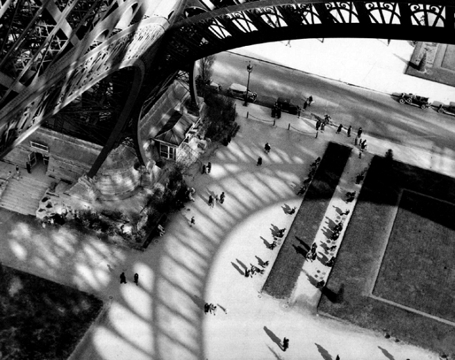 Andre Kertesz. 'Eiffel Tower, Paris' 1929