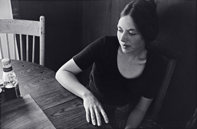 Christine Godden. 'Joanie at the kitchen table' 1973