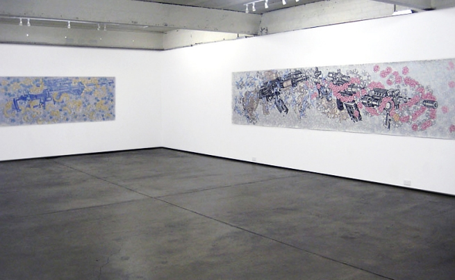 Installation view of 'Sweet Complicity' by eX de Medici at Karen Woodbury Gallery, Melbourne