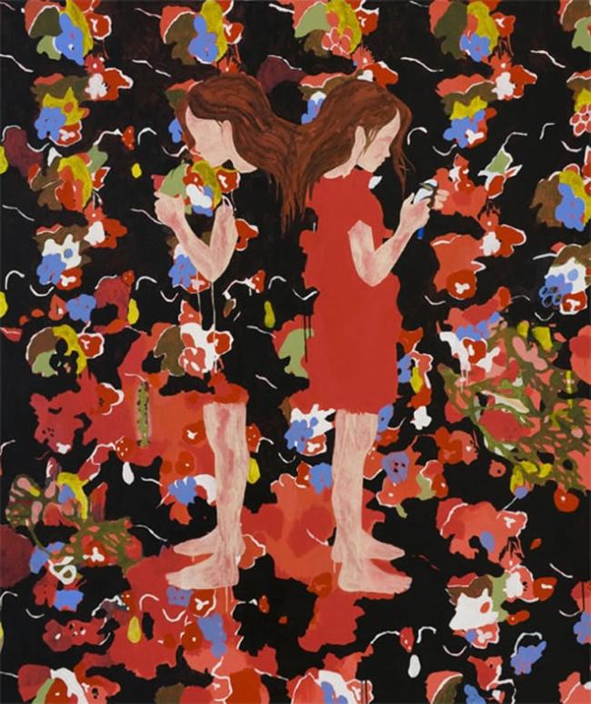 Kirra Jamison. 'Belong to me (after Delaunay)' 2009