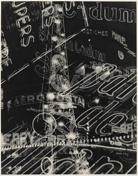 Man Ray. 'La Ville' (The City) 1931