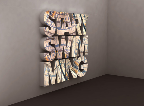 Doug Aitken. 'Start Swimming' 2006