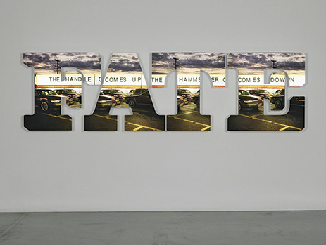 Doug Aitken. 'The handle comes up, the hammer comes down' 2009