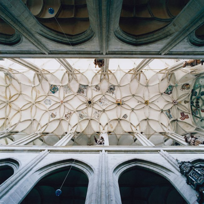 David Stephenson. 'Nave, Cathedral of St. Barbara, Kutná Hora, Czech Republic' 2008/09