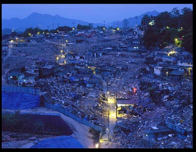 Sekown Ahn. 'Disappearing Lights of Weolgok-dong II', 2007