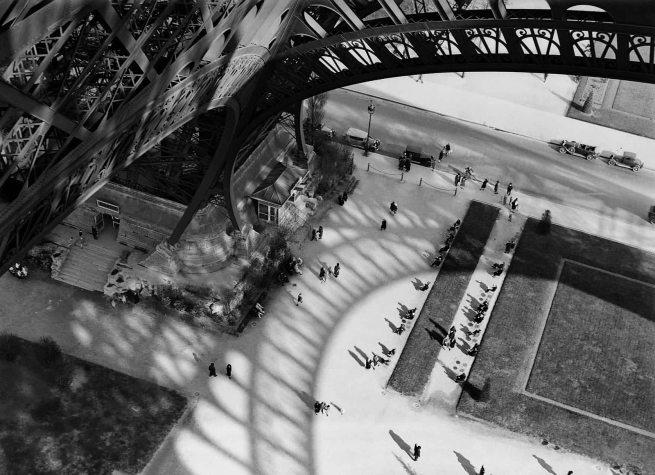 Andre Kertesz (Hungary, 1894-1985) 'Eiffel Tower, Paris' 1929