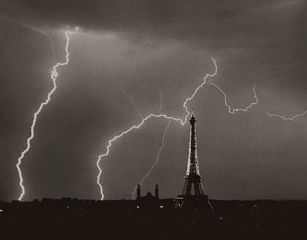 Andre Kertesz (Hungary, 1894-1985) 'Eiffel Tower, Summer Storm' 1927