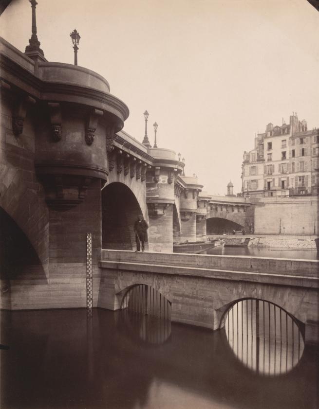 Eugène Atget(French, 1857-1927) 'Pont-Neuf' 1902-03
