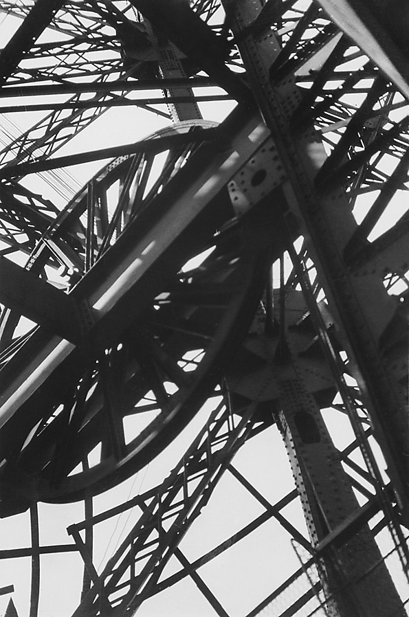Germaine Krull. 'La Tour Eiffel' (The Eiffel Tower) c. 1928
