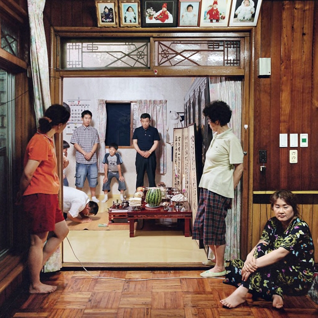 Sunmin LEE. 'Sunja's House #1 - Ancestral Rites' from the series 'Woman's House II' (2003-2004) 2004