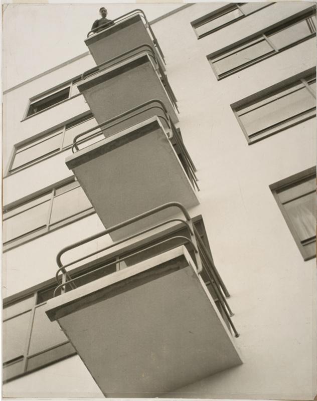László Moholy-Nagy. 'Bauhaus Balconies' 1926