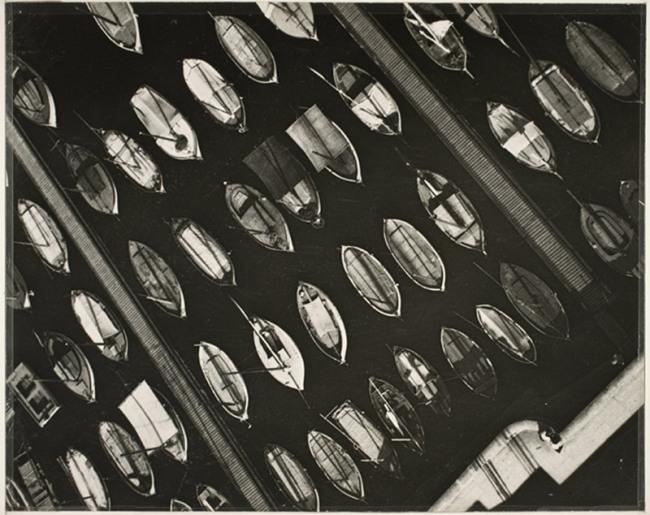 László Moholy-Nagy. 'Marseille, Port View' 1929