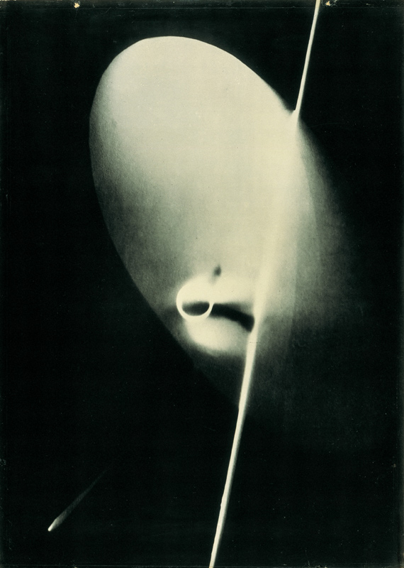 László Moholy-Nagy. 'Photogramm No.11' Enlargement before 1929