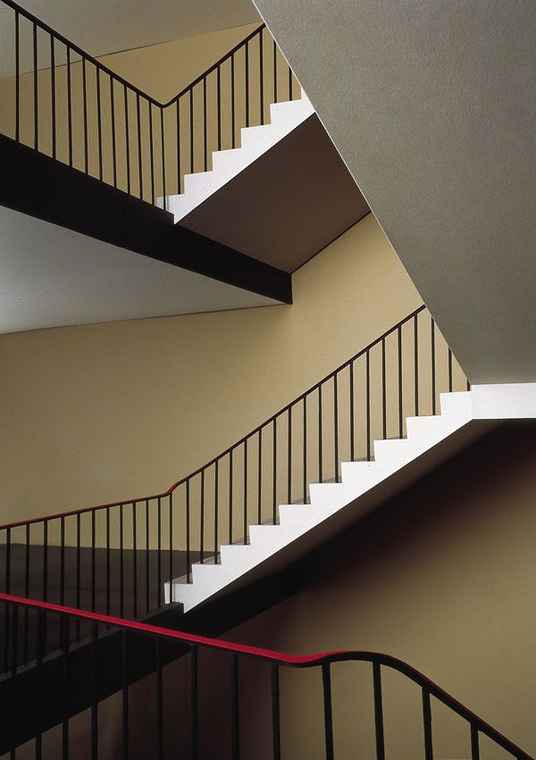 Thomas Demand(German, b. 1964) 'Treppenhaus / Staircase' 1995