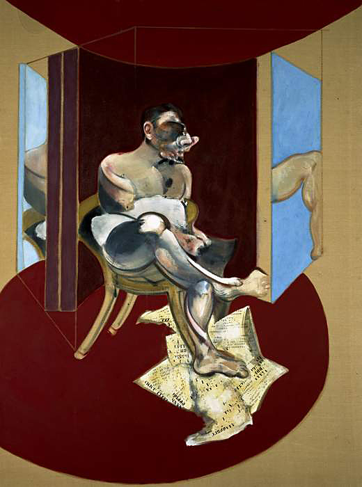 Francis Bacon (British 1909-1992) 'Study of George Dyer' 1969
