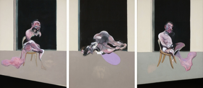 Francis Bacon (British 1909-1992) 'Triptych' August 1972