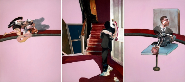 Francis Bacon (British 1909-1992) 'Triptych in Memory of George Dyer' 1971