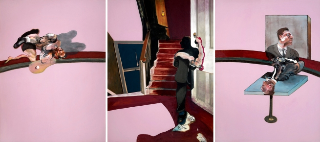 Francis Bacon(British 1909-1992) 'Triptych in Memory of George Dyer' 1971