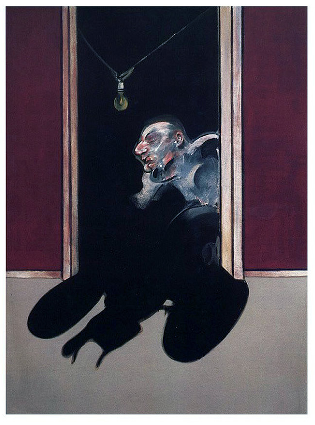 Francis Bacon (British 1909-1992) Central panel of the 'Triptych of George Dyer' 1973