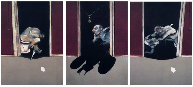 Francis Bacon (British 1909-1992) 'Triptych of George Dyer' 1973