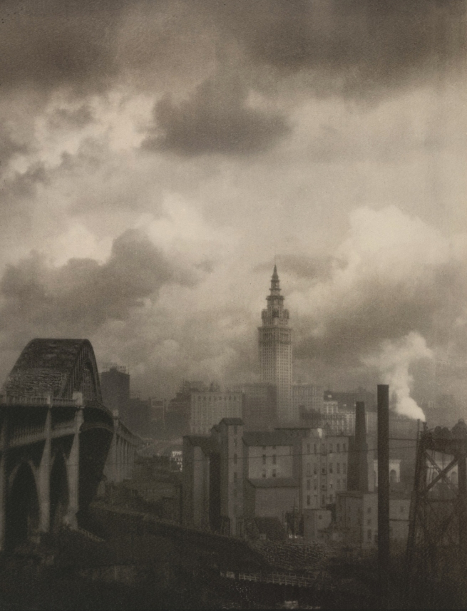 Margaret Bourke-White (American 1904-1971) 'Terminal Tower' 1928