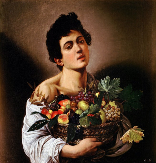 Michelangelo Merisi da Caravaggio(Italian, 1571-1610) 'Boy with a Basket of Fruit' c. 1593-1594