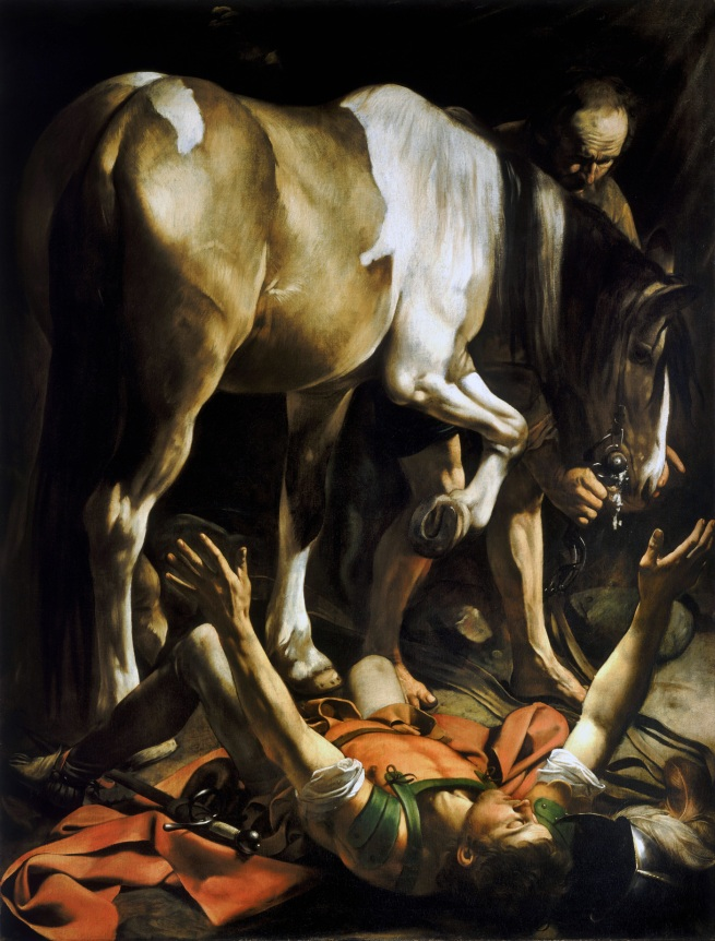 Michelangelo Merisi da Caravaggio. 'The Conversion of Saint Paul' c. 1600/01
