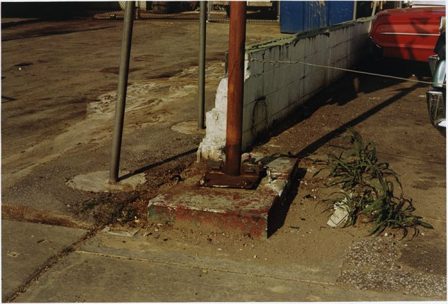 William Eggleston. 'Untitled (Car in Parking Lot)' 1973