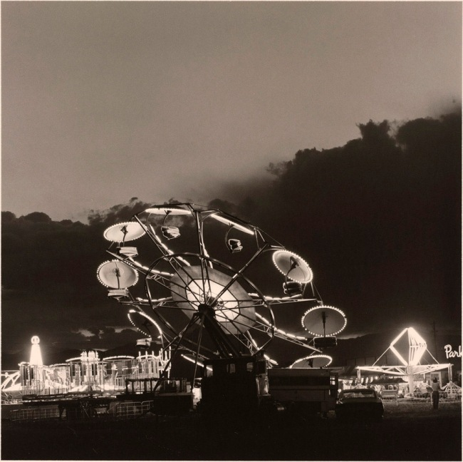 Robert Adams (American, b. 1937) 'Summer Nights #2 (Longmont, Colorado)' 1979