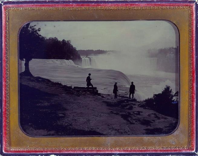 Platt D. Babbitt(American, 1822-1879) 'Niagara Falls' c. 1860