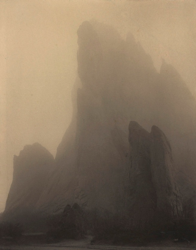 Laura Gilpin (American, 1891-1979) 'Ghost Rock, Colorado Springs' 1919