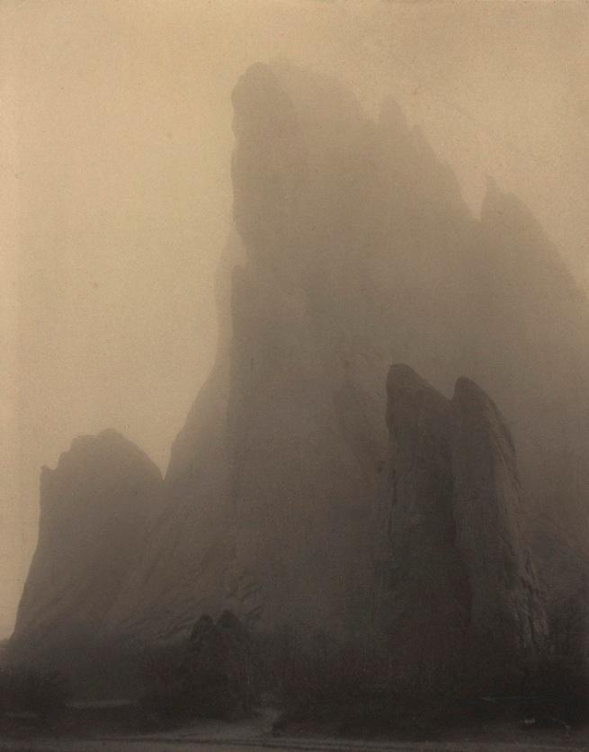 Laura Gilpin(American, 1891-1979) 'Ghost Rock, Colorado Springs' 1919