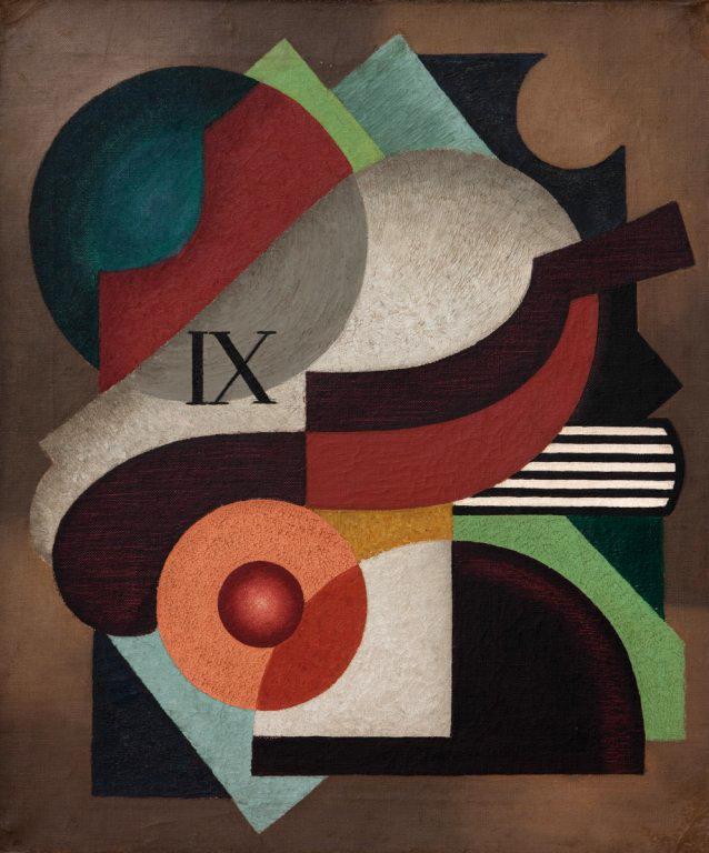 Jean Appleton(Australian, 1911-2003) 'Painting IX' 1937
