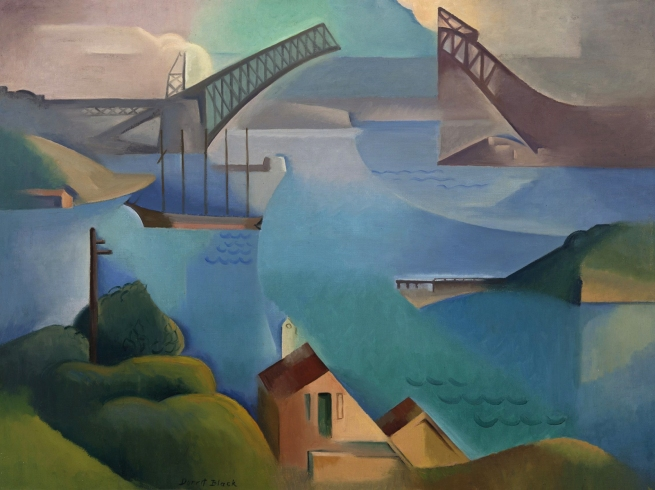 Dorrit Black (Australian, 1891-1951) 'The bridge' 1930