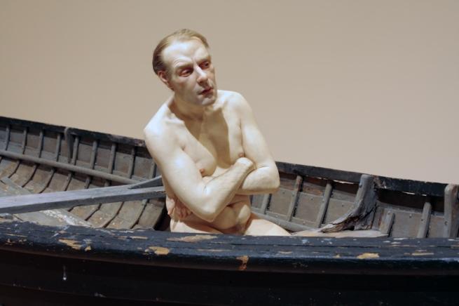 Ron Mueck(Australian b. 1958) 'Man in a boat'(detail) 2002